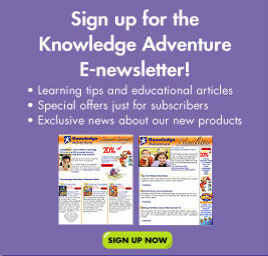 Sign up for the Knowledge Adventure E-newsletter